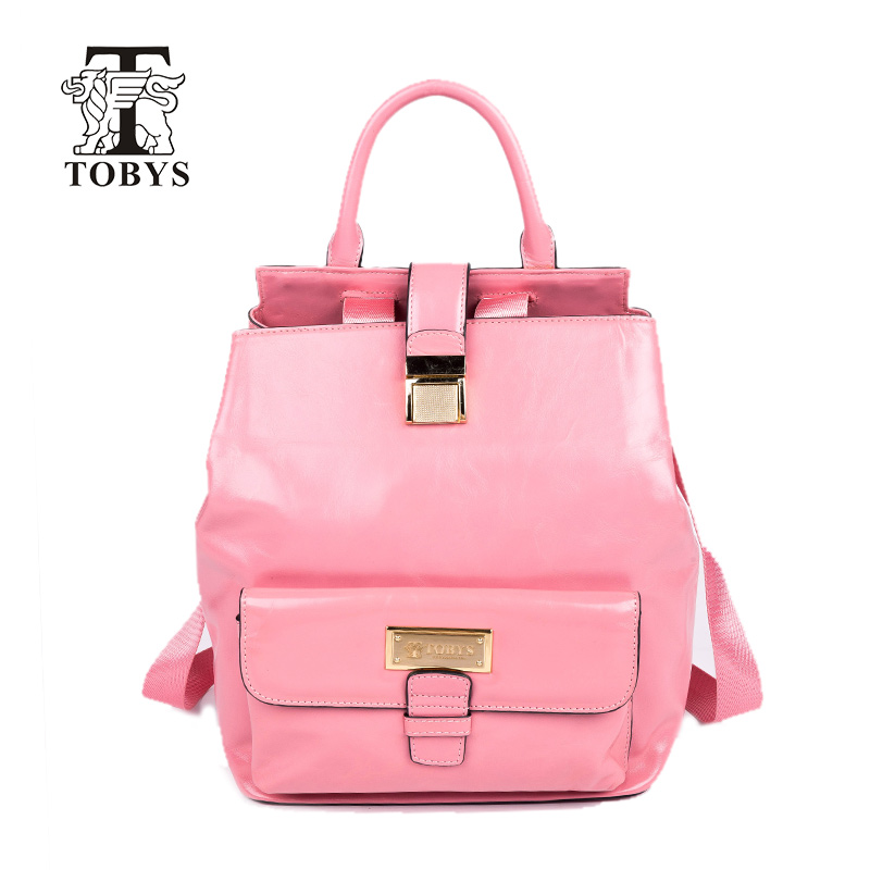 TOBYS Women Genuine Leather Backpack For College Shoulder Bag High quality Female Fashion Backpacks Japanese girl style backpack 2017 fashion women waterproof oxford backpack famous designers brand shoulder bag leisure backpack for girl and college student