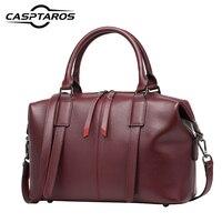 2017 New Genuine Leather Women S Shoulder Bag Lady Handbag Messenger Bag Female High Grade Famous