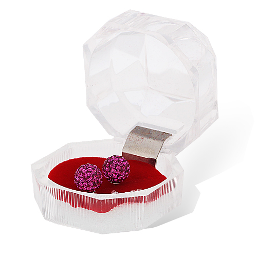 fashion jewellery,carrying cases/ three color gift boxes/jewelery packing&display/earring/ring box 4*4*4
