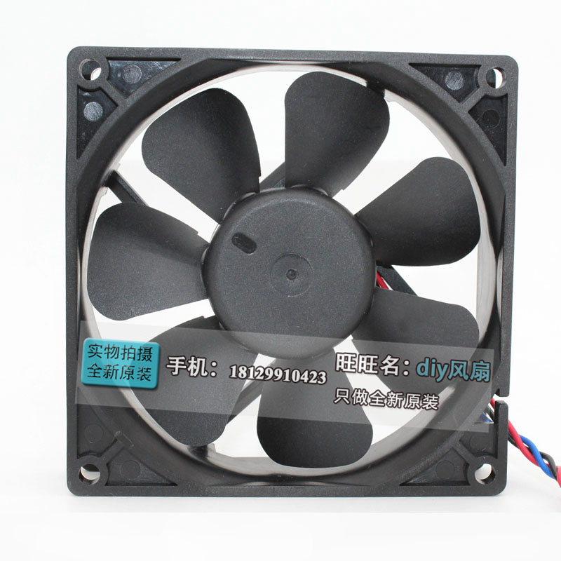 FOR Delta 9025 12V 0.19A 9CM 3 Line Mute Power Computer Chassis Fan DSB0912M