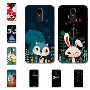 the best attitude 9151b 5218b Coque For LG K7 2017 X230 Cases Cover Bunny Animal Soft TPU Phone