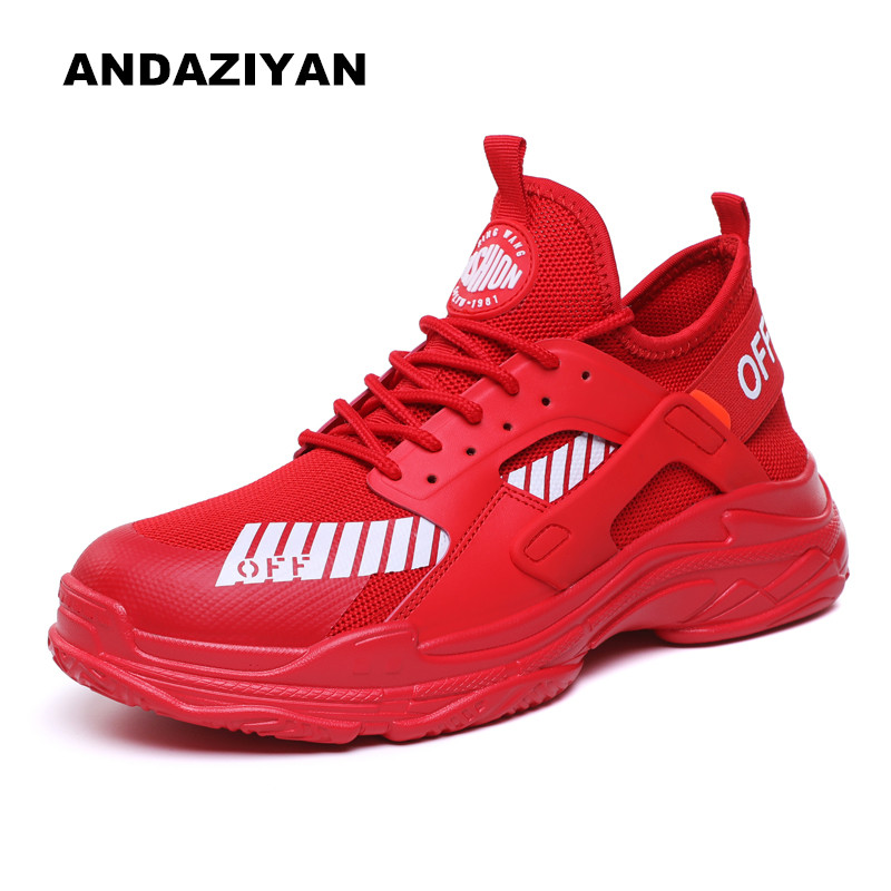 Com vermelho Tendência grossa Dos Sapatas border De Cross Sapatos branco Velhos Solado Genuína Preto Homens xcWFZZnOp