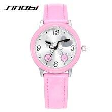 SINOBI Youngsters Shock Resistant Quartz Watch College Prime High quality Relogios Feminino 2017 New Trend Hardlex Feminine Wristwatch