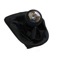 Gałka zmiany Biegów samochodów Z Skóry Rozruchu Chrome Cap Dla PEUGEOT 207 307 308 607 608 CITROEN C3 C5 XSARA Instrukcja Kij Dźwignia 5 prędkość