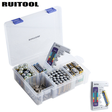 Battery Organizer Storage Case With Battery Tester For Checker Battery Capacity Household Storage Battery Measuring Instrument