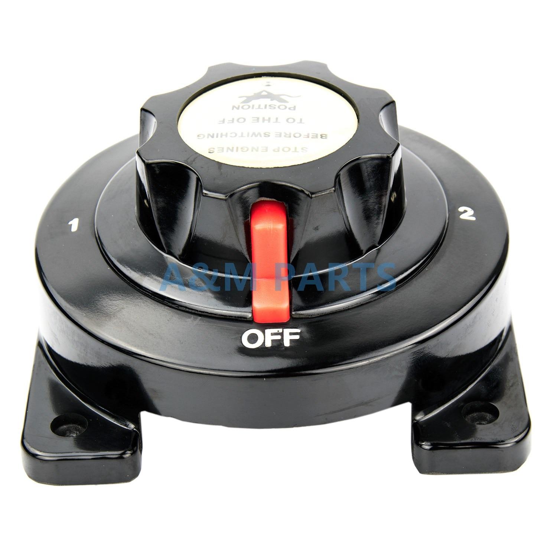 Сверхмощный морской двойной выключатель батареи селекторная лодка/RV/Караван/яхта