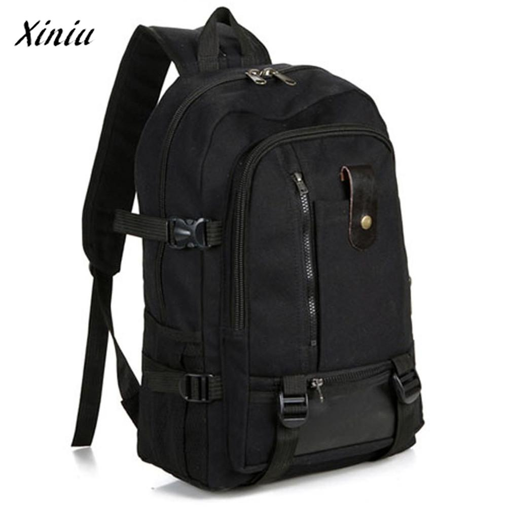 Men Army Color Vintage Design Travel Backpack Casual Canvas Backpacks Male Travel Softback Mochila Masculina
