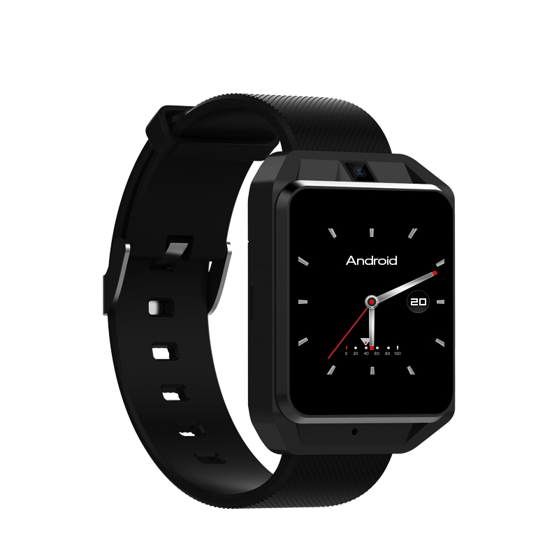 Microwear H5 4G Smartwatch Phone Wristband Android 6.0 Quad Core 1G RAM 8G ROM GPS WiFi Heart Rate Sport Bracelet Video Call microwear h5 1 54 inch mtk6737 quad core 4g smart watch phone android 6 0 8g rom gps wifi heart rate video call smartwatch men