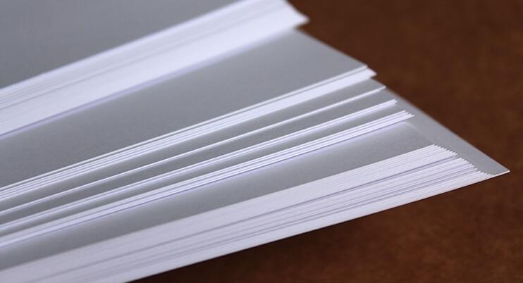 A4 230gsm Plain White Matt Thick Paper Blank Cardstock Cardboard