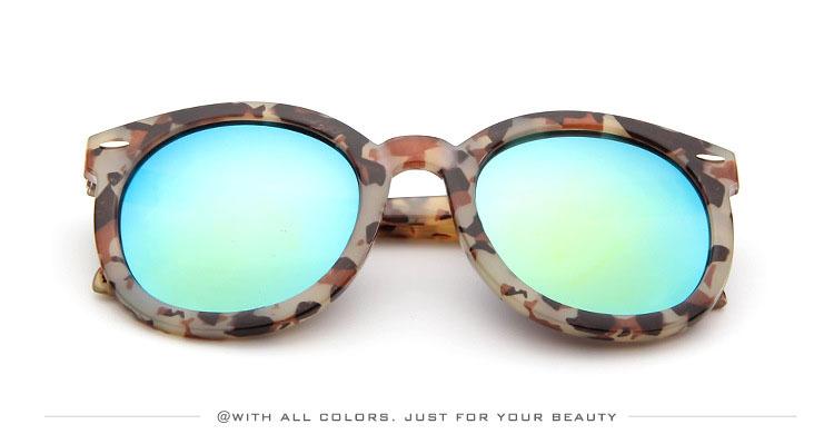 HTB1NrfkSXXXXXbTaFXXq6xXFXXX4 - Marbling Sunglasses Women Round Frame PTC 268