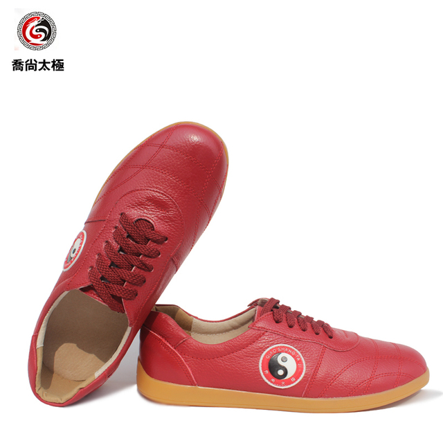 Tai Chi Shoe  Martial Art Shoes Ox Tendon Soft Bottom Cowhide Inside And Outside Full Skin kung fu Shoe