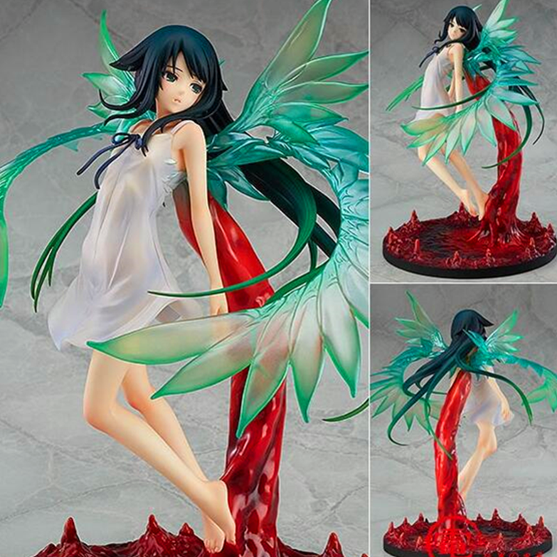 25CM SaYa No Uta Anime <font><b>Figure</b></font> Saya <font><b>Action</b></font> <font><b>Figure</b></font> Standing Posture Wing <font><b>Girl</b></font> Model Ver Set <font><b>Sexy</b></font> Dolls with Box F322 image
