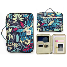 Waterproof Nylon Storage Bag Documents Folder Multi-Function A4 Bag Ipad Filing Products File Paper Notebook Pens Holder