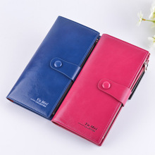 Fashion Women Wallet High Quality Leather Long Clutch Wallet Purses Female Credit Card Holder Coin Purse Phone Pocket TQ12