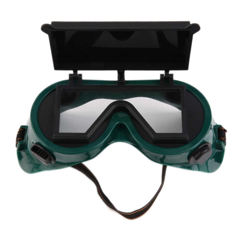 Welding Goggles Cutting Grinding Welding With Flip Up Glasses Lenses Welder Labour Working Safety Protective Eyewear hfsecurity safety glasses windproof protective glasses working eyeswear transparent lenses
