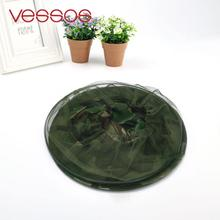 VESSOS Camping Hunting Insect Mosquito Bug Bee Repellent Hat Camouflage Face Mesh Cap fishing hat