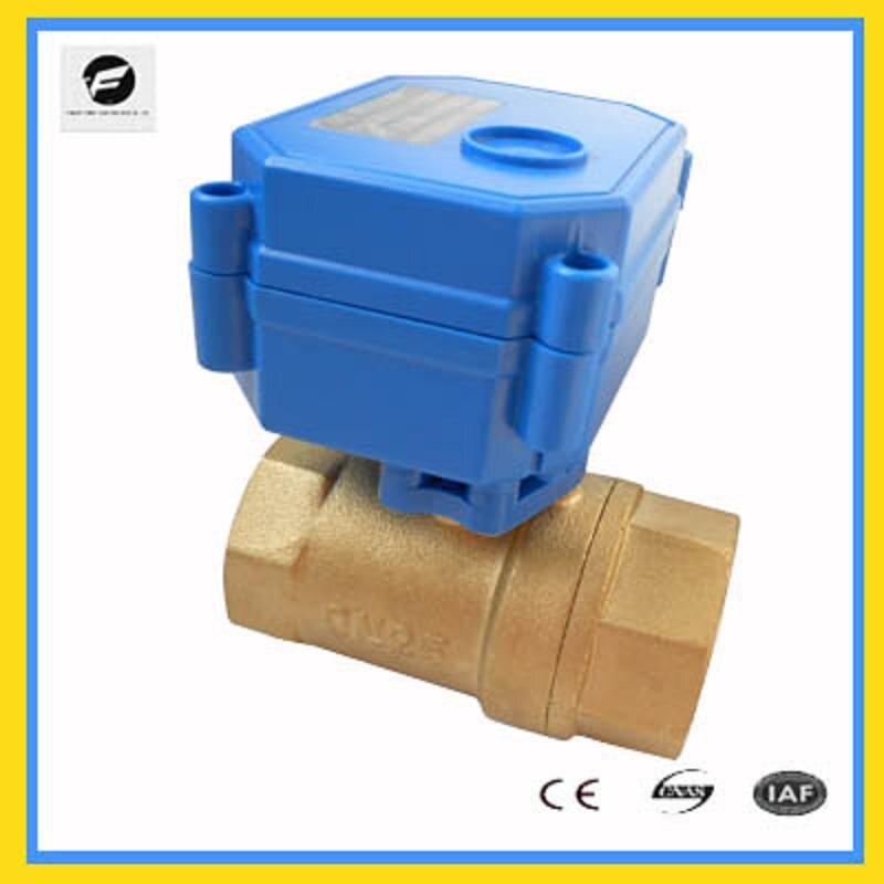 Heimwerker Sanitär Cwx-15 1/2 3/4 1/4 3/8 messing Motorisierte Kugelhahn Dc3-6v Cr02 Dn15 Dn20 Dn8 Dn10 Elektrischen Stellantrieb Wasserventil