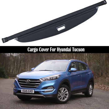 Rear Cargo Cover For HYUNDAI Tucson 2015 2016 2017 2018 2019 privacy Trunk Screen Security Shield shade Auto Accessories