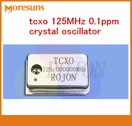Fast Free Ship 5pcs/lot TCXO <font><b>50MHz</b></font> 100MHz 125MHz 0.1ppm Temperature-compensation <font><b>Crystal</b></font> Oscillator image