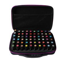 60 Bottles Essential Oil Case 10ml/15ml Essential Oil Collecting Bags Travel Portable Carrying Cases Nail Polish Storage Bag