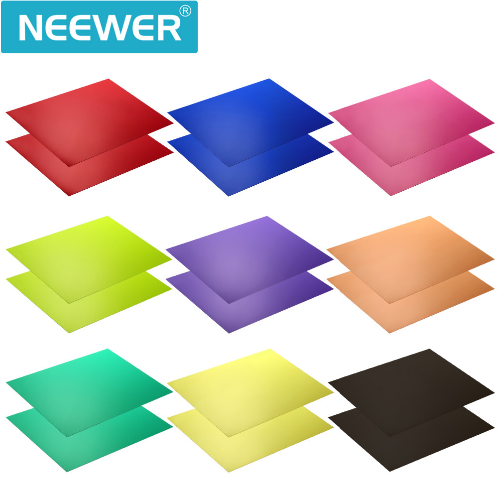 Neewer Correction Gel Light Filter Transparent Color 12x8.5