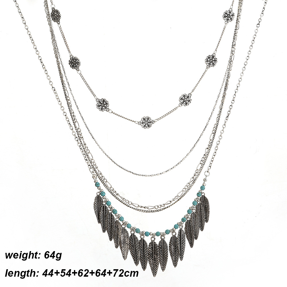 navajo silver sterling lewis s intricate stunning tom american native necklace products turquoise