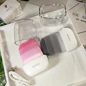 Image 5 - Youpin inface instrumento de limpeza profunda limpar sônico acne esfoliante beleza facial rosto cuidados com a pele massageador elétrico