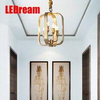 Медных лампы и фонари американские блюда подвесной светильник играть роль ofing крыльцо коридор лампы