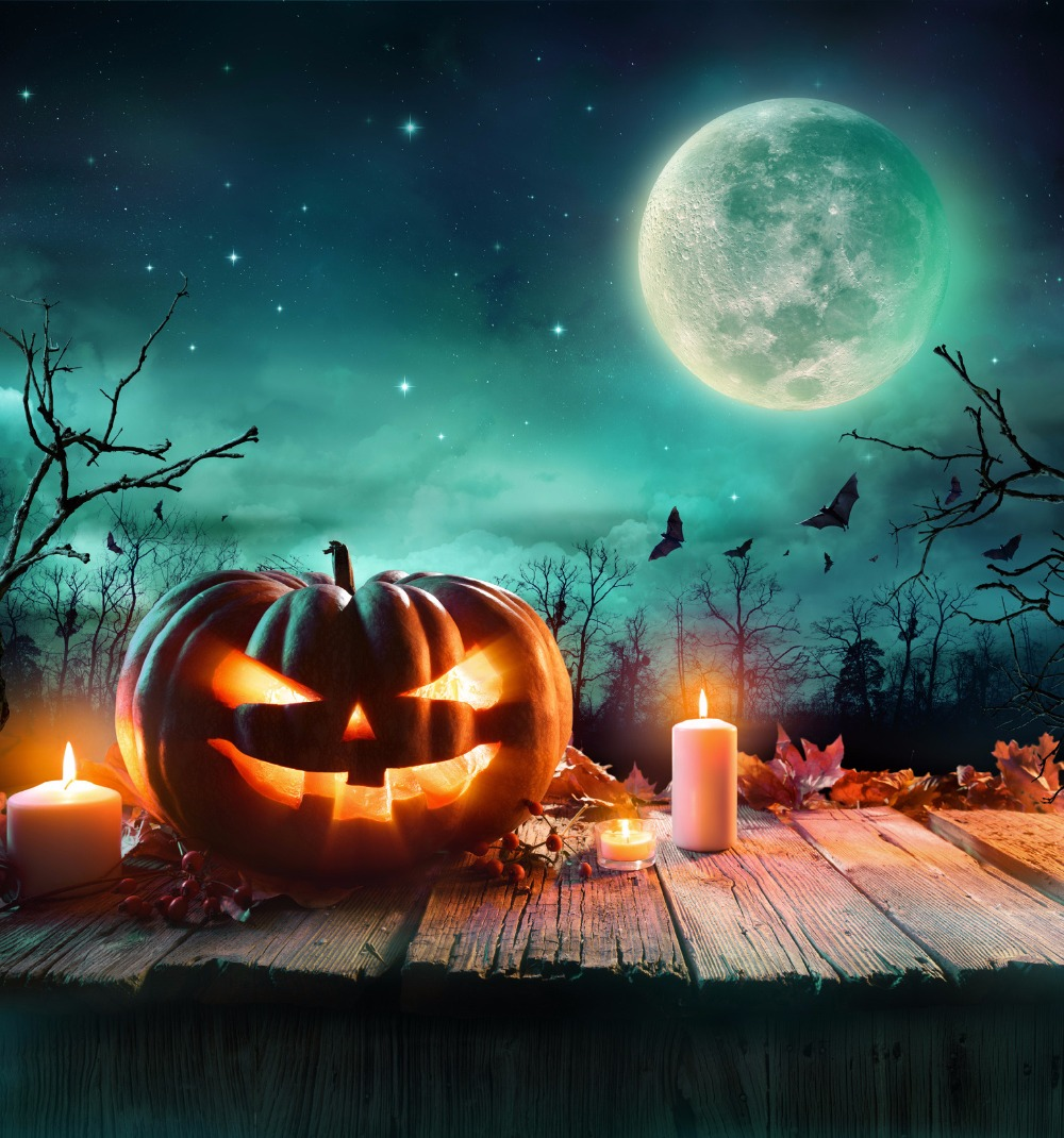 kate halloween backdrop halloween pumpkin background wood plank backdrop moon night backgrounds children backgrounds for studio in background from consumer