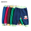 ZBAIYH Spring Autumn kids clothing boys girls harem pants sports trousers leggings baby 95% cotton Cartoon trousers baby pants