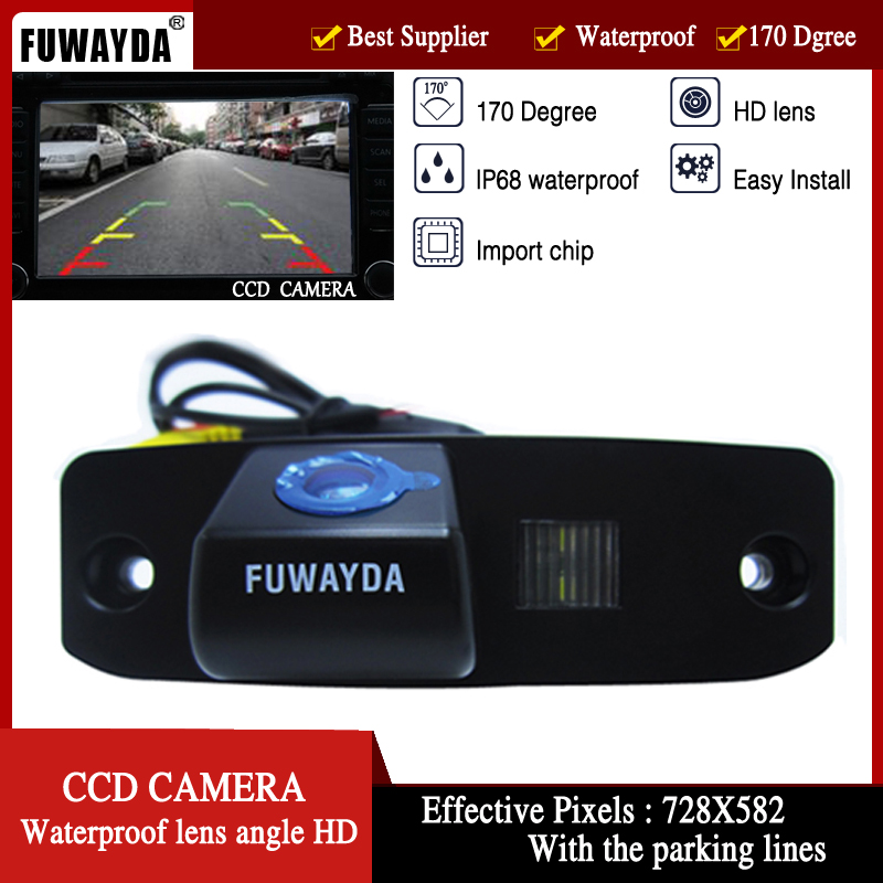 FUWAYDA CCD CAR REAR VIEW REVERSE HD CAMERA With Parking Lines Waterproof Night Vison  FOR Chrysler 300/300c/srt8/magnum/Sebring