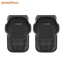 2x 18V 6.0Ah Li-ion R840087 Rechargeable Battery for RIDGID R840083 R840084 R840086 AC840087 AC840083 AC840084 L30