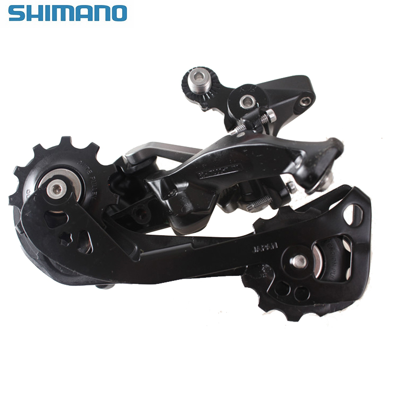 SHIMANO SLX RD M7000 GS 11S MTB Rear Derailleur Middle Cage Bicycle Derailleur Shadow System Locking Button for Mountain Bike shimano slx m7000 gs 11ск shadow