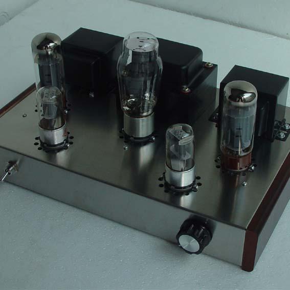 Andaimes artesanal 6N9P + EL34B Classe Um amplificador Valvulado Single  ended Amplificador Estéreo HiFi Amp DIY kits em Amplificador de Eletrônicos  no ... 1e3ff365c3