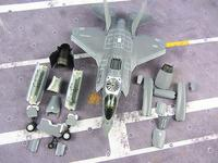 US Airforce F35 lightning fighter aircraft model 1:72 for F35A/F35B vertical takeoff and landing /F35C