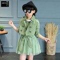 Children's Clothing Sets Kids Girls Korean Clothes Set Child Dot Sports Suits Girl Dress+Coats 2 Pcs Suit Piece Kid Casual Suit