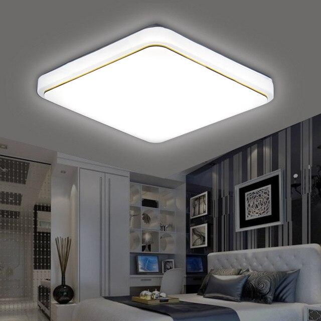 LED Luz de Teto L u00e2mpada Moderna Sala de estar Quarto Luminária Cozinha Surface Mount Flush