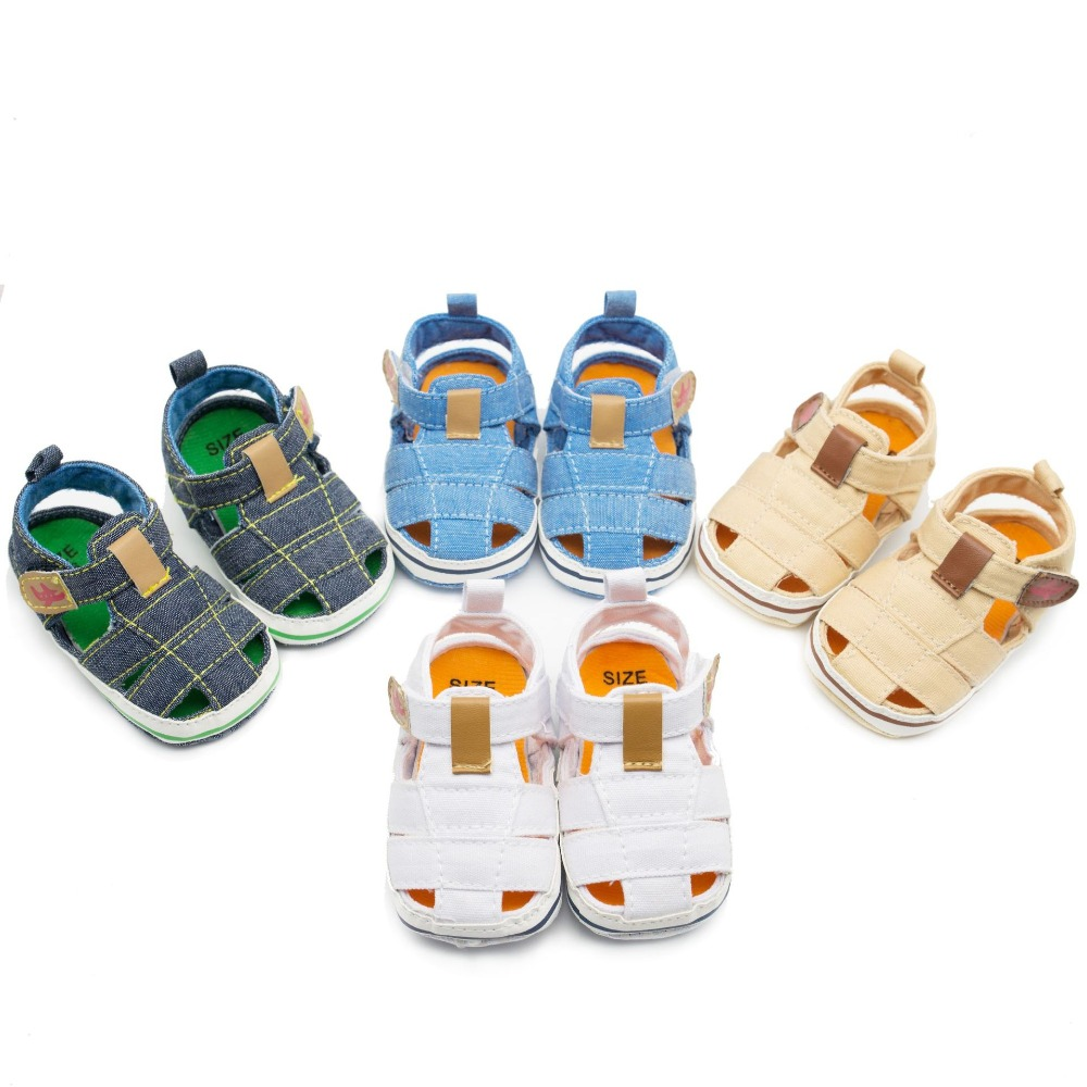 Summer Fashion Anchor Baby Boys Beach Shoes Infant Toddler ...