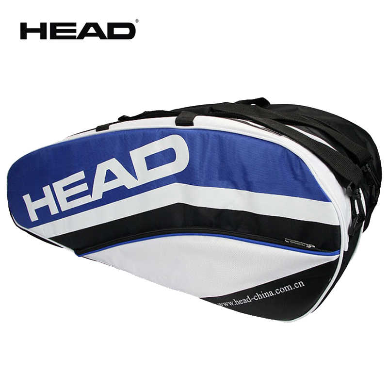 Updated Generation Head Racket Bag Large Capcity For 5 Tennis Rackets Original Head Sports Backpack All Sports Accessories Male