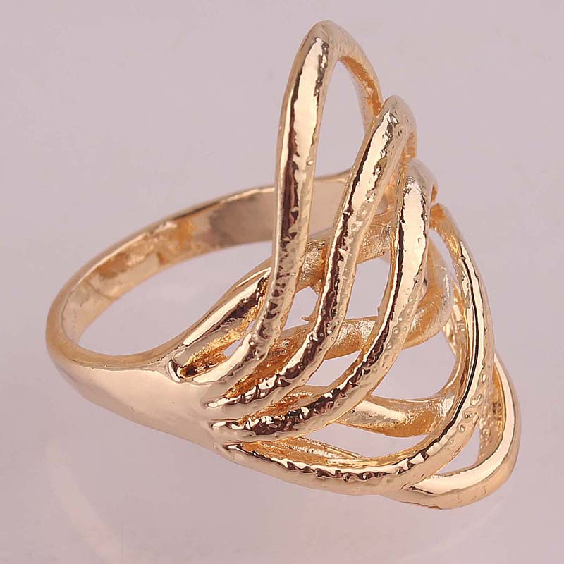 New Arrive Beautiful Chic Wave Rings Jewelry Free Shipping 18k ...
