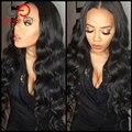 Класс 8А Необработанные Девственные Волосы Перуанский Объемная Волна 4 Связки Перуанский Девы Волос Объемной Волны Связки Человеческих Волос