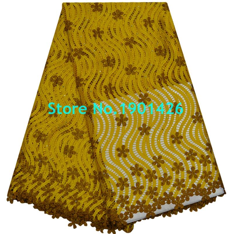 Wholesale gorgeous sewing dress african cord lace fabric for Bulk sewing material