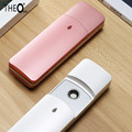Theo New Design Portable Nano Ionic Atomization Face Care Mist Sprayer Mini Moisturizing Face Beauty Hydrating Instrument Tools