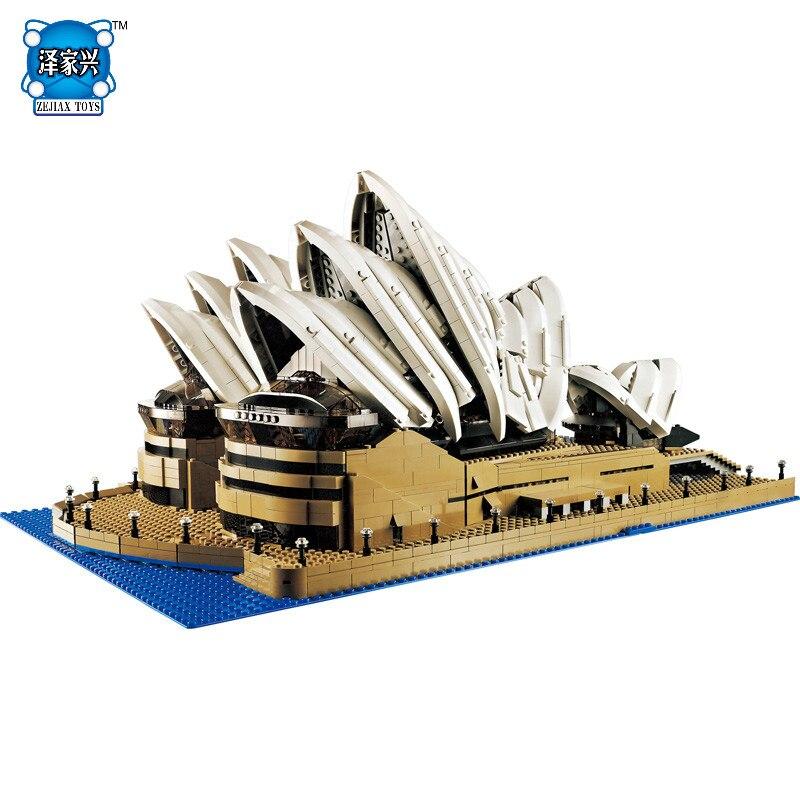Новый Street View серии Сиднейский оперный театр Коллекция подарков 3017 шт. Совместимость lepins здания Конструкторы Детей Строительство Игрушечны