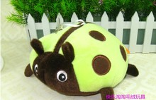 5 pieces small cute green ladybug plush toys ladybug doll gift toy about 20cm
