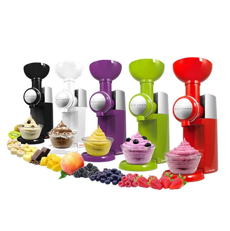 JZ29 Frozen Fruit Dessert Maker Fruit Ice Cream Machine Or Electric Ice Cream Maker 110V-240V, EU or US plug