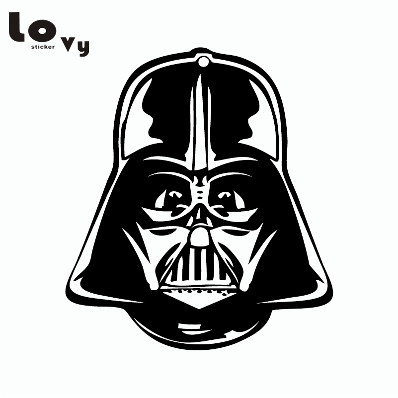 Star Wars Car Sticker Darth Vader Silhouette Vinyl Car
