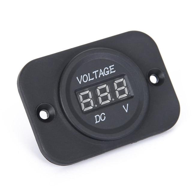 Online-Shop DC 12-24 V Auto Motorrad LED Digital Voltmeter ...