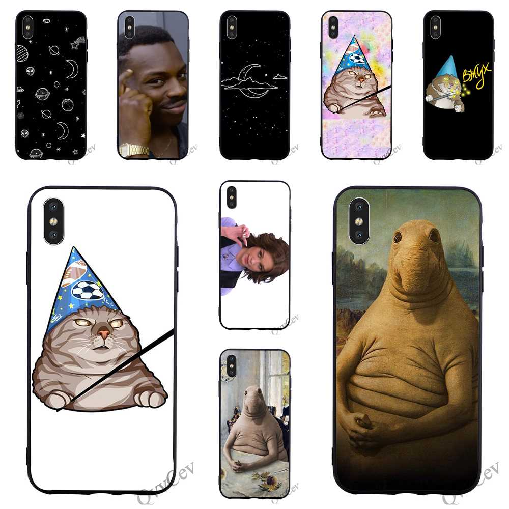Fashion Zhdun Wooing <font><b>Meme</b></font> Phone Cover for iPhone 6S Case 8 XR X 7 Plus 6 5 5S SE Xs Max Cases image