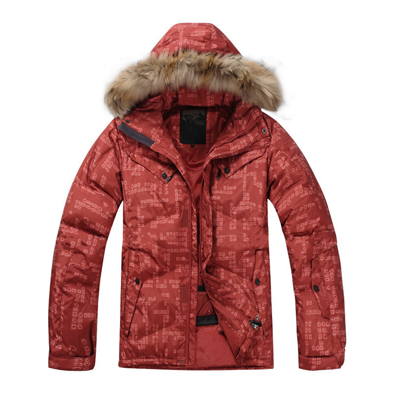 YYear Mens Zipper Quilted Stand Collar Packable Thicken Down Coat Parka Jacket